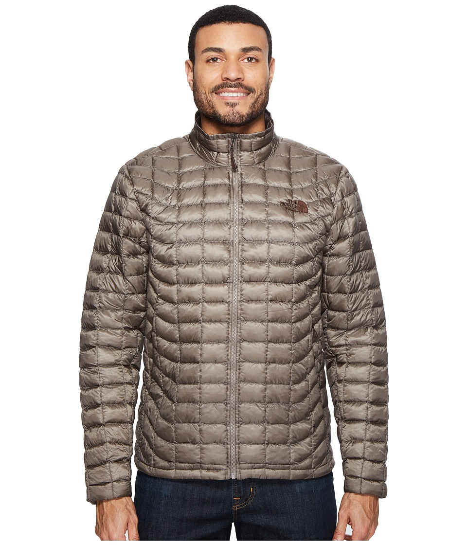 The North Face - ThermoBalltm Full Zip Jacket (Falcon Brown (Prior Season)) Men's Coat