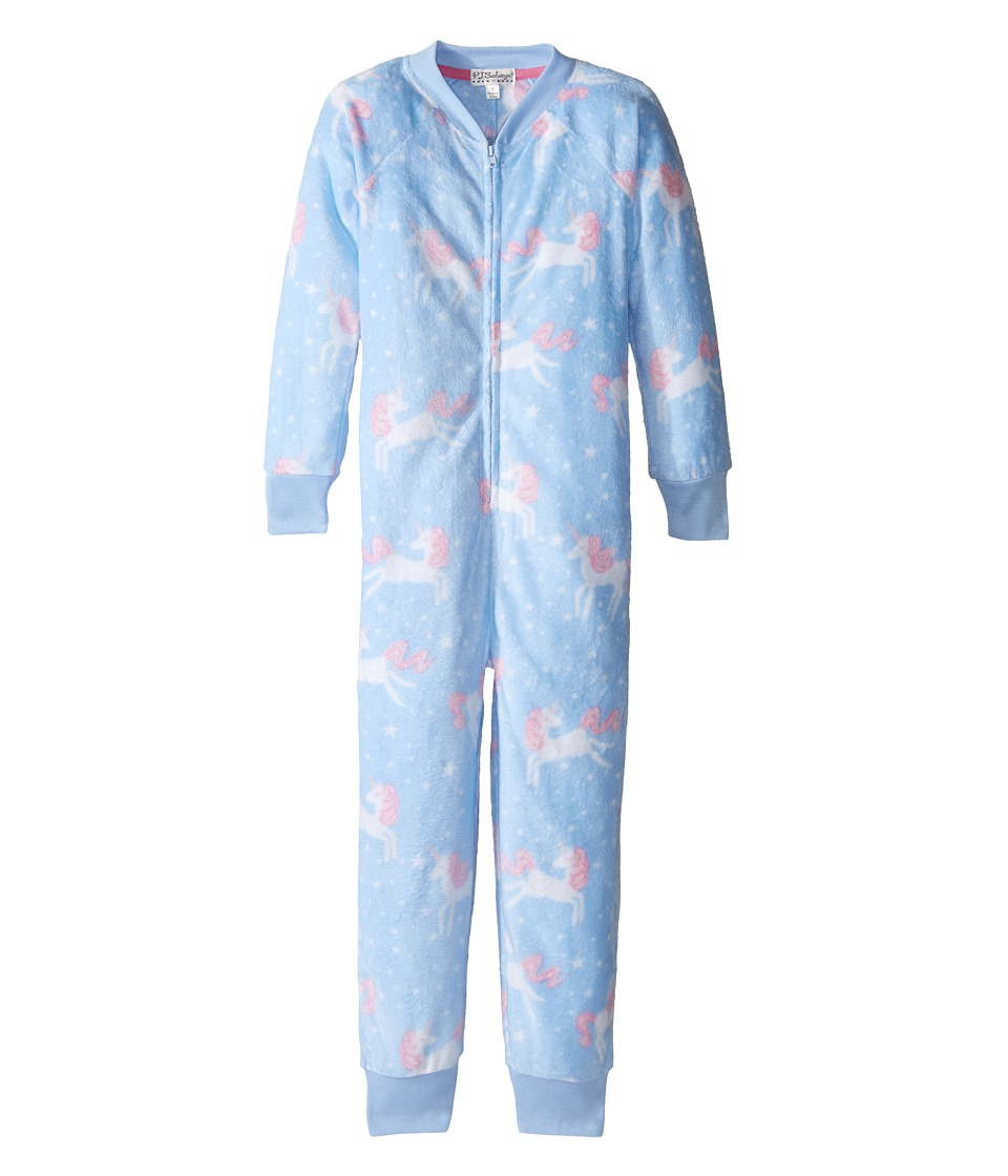 P.J. Salvage Kids - Unicorn One-Piece Pajama (Toddler/Little Kids/Big Kids) (Periwinkle) Girl's Jumpsuit & Rompers One Piece