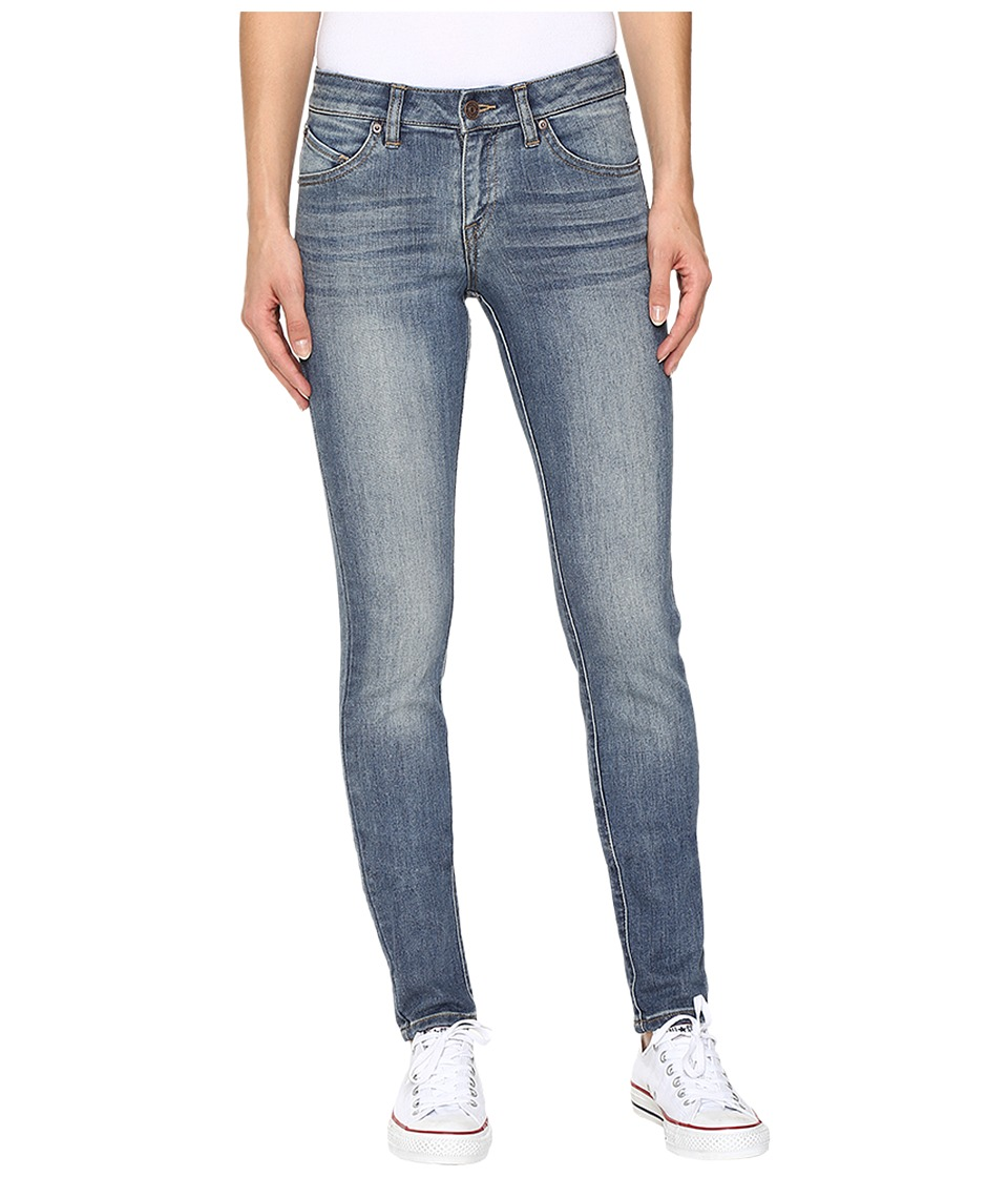 Volcom - Super Stoned Skinny Jeans in Dry Vintage (Dry Vintage) Women's Jeans