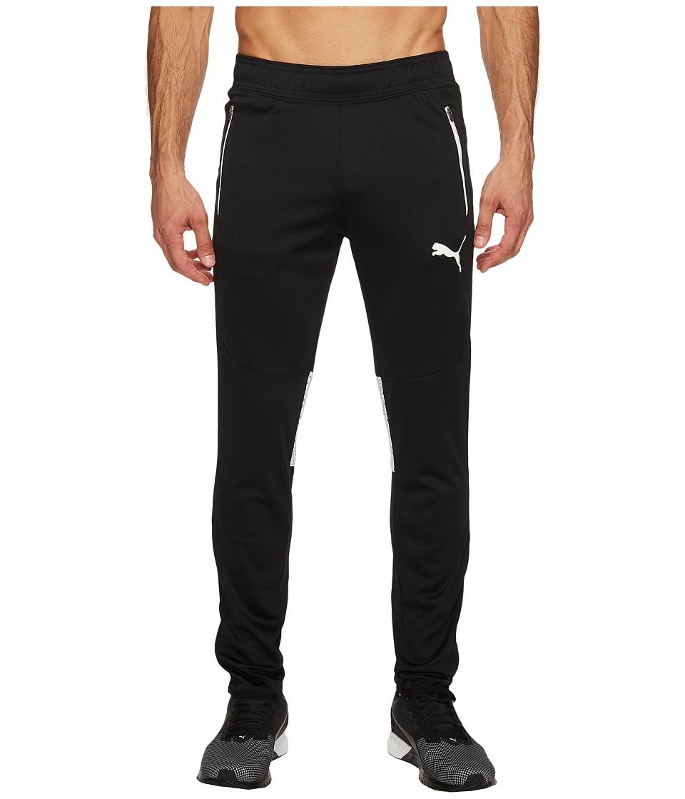 PUMA - Flicker Tech Pants (PUMA Black/White) Men's Workout