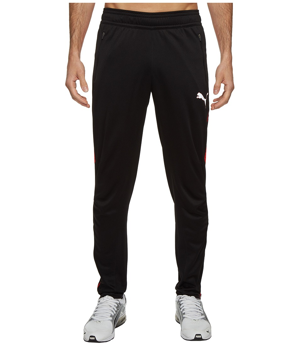 PUMA - Flicker Pants (PUMA Black/PUMA Red) Men's Casual Pants