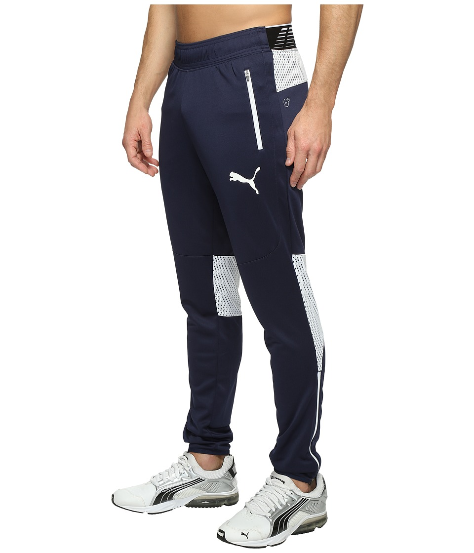 PUMA - Flicker Tech Pants (Peacoat/White) Men's Workout