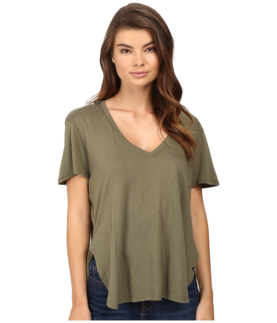 Volcom - Deep Dish Tee (Military) Women's T Shirt