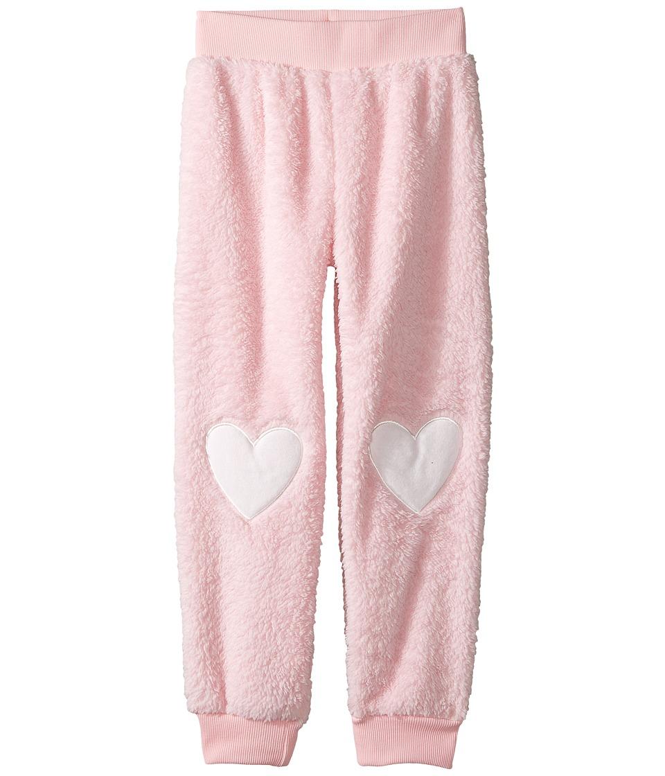 P.J. Salvage Kids - Snow Bunny Plush Pants (Toddler/Little Kids/Big Kids) (Pink) Girl's Pajama
