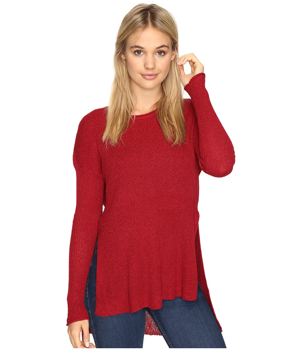 Volcom - Glider Sweater (Brick) Women's Sweater