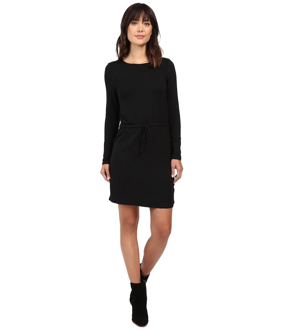 Culture Phit Naya Long Sleeve Drawstring Dress (Black) Women