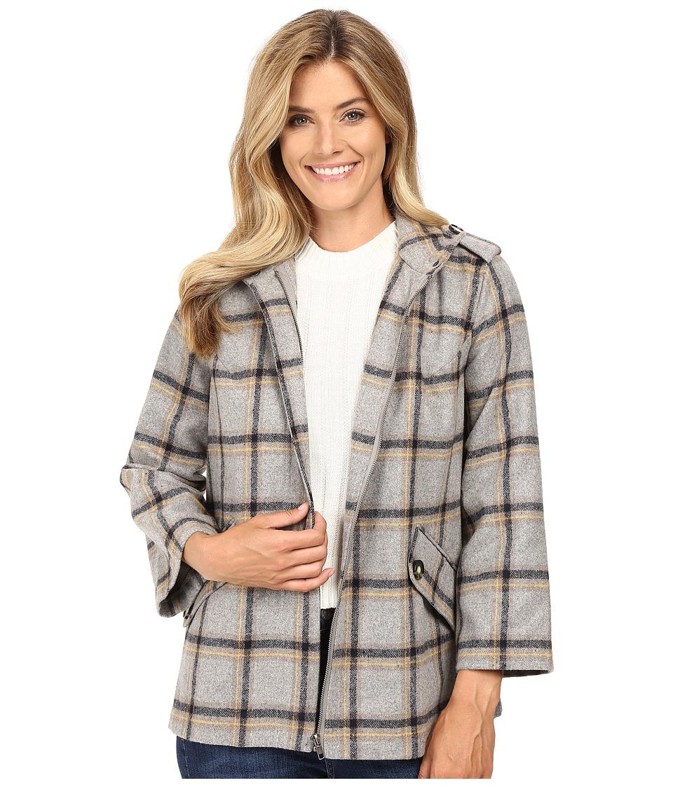 KUT from the Kloth - Agatha Coat (Grey) Women's Coat