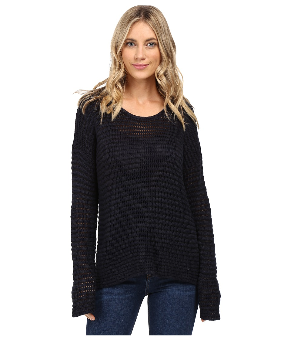 Volcom - Hold On Tight Crew Sweater (Black) Women's Sweater