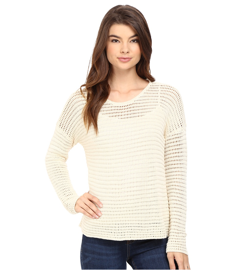 Volcom - Hold On Tight Crew Sweater (Vintage White) Women's Sweater