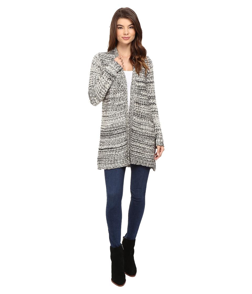 Volcom - Rested Heart Cardigan Sweater (Black) Women's Sweater