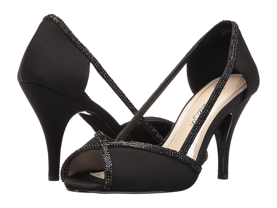 Caparros - Faith (Black Faille) High Heels