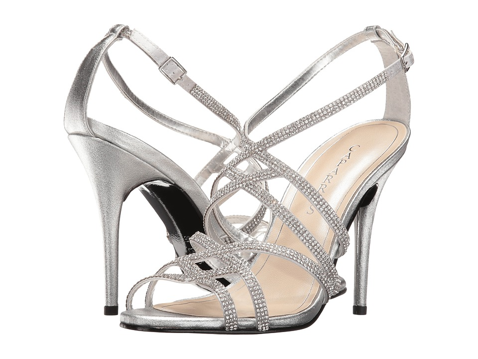 Caparros Fantasia (Silver Metallic) High Heels