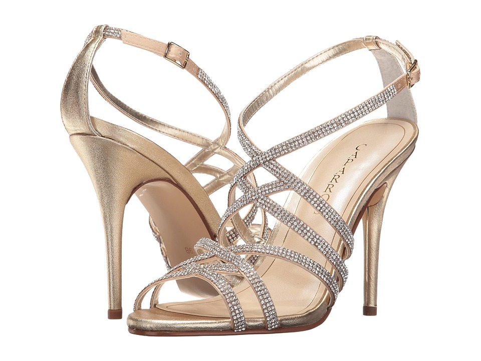 Caparros Fantasia (Medium Gold Metallic) High Heels