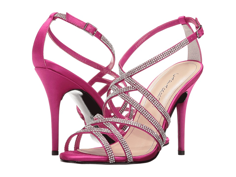 Caparros Fantasia (Magenta New Satin) High Heels