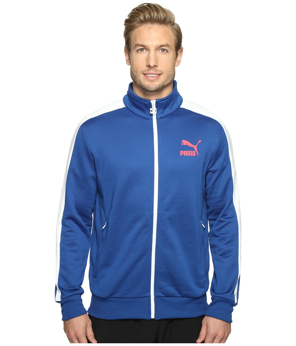 PUMA - Archive T7 Track Jacket (True Blue) Men's Coat