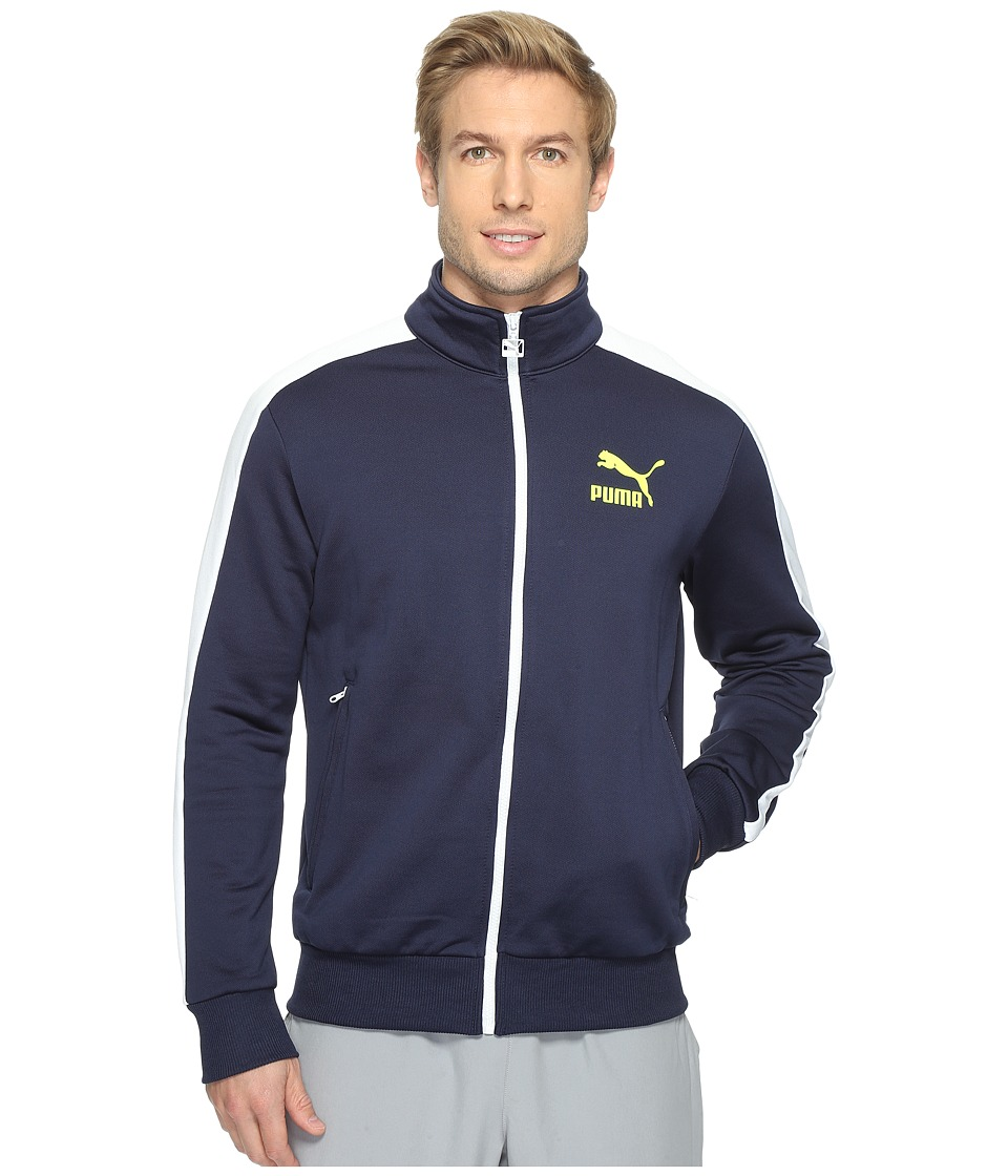 PUMA - Archive T7 Track Jacket (Peacoat) Men's Coat