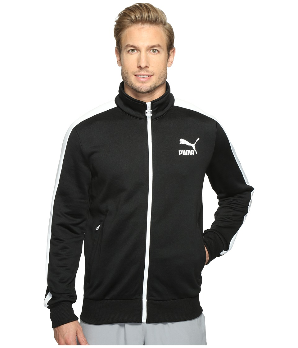 PUMA - Archive T7 Track Jacket (PUMA Black) Men's Coat