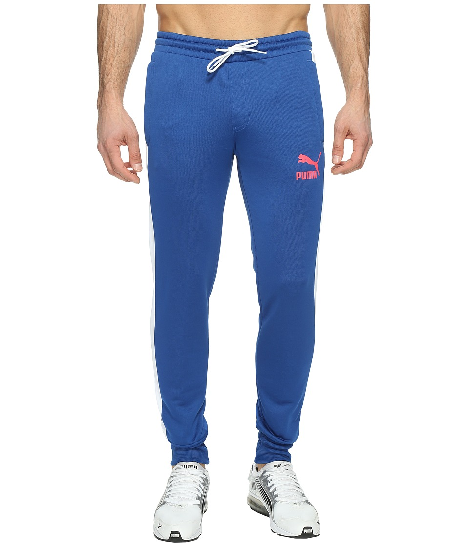PUMA - Archive T7 Track Pants (True Blue) Men's Workout