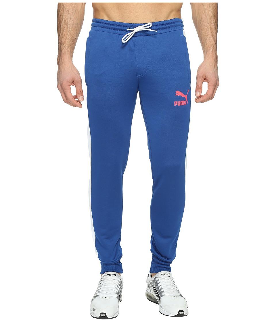 PUMA - Archive T7 Track Pants (True Blue) Men's Workout