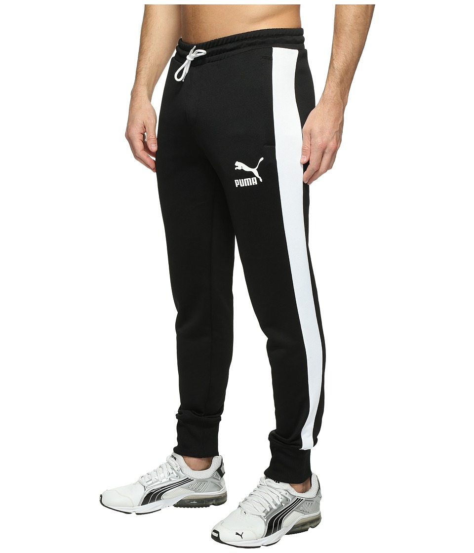 PUMA - Archive T7 Track Pants (PUMA Black) Men's Workout