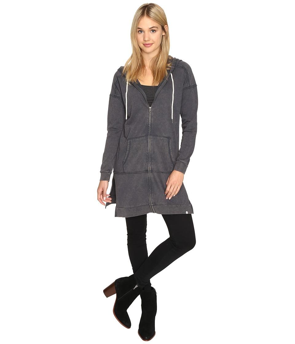 Volcom - Long Bored Fleece (Dark Navy) Women's Sweatshirt