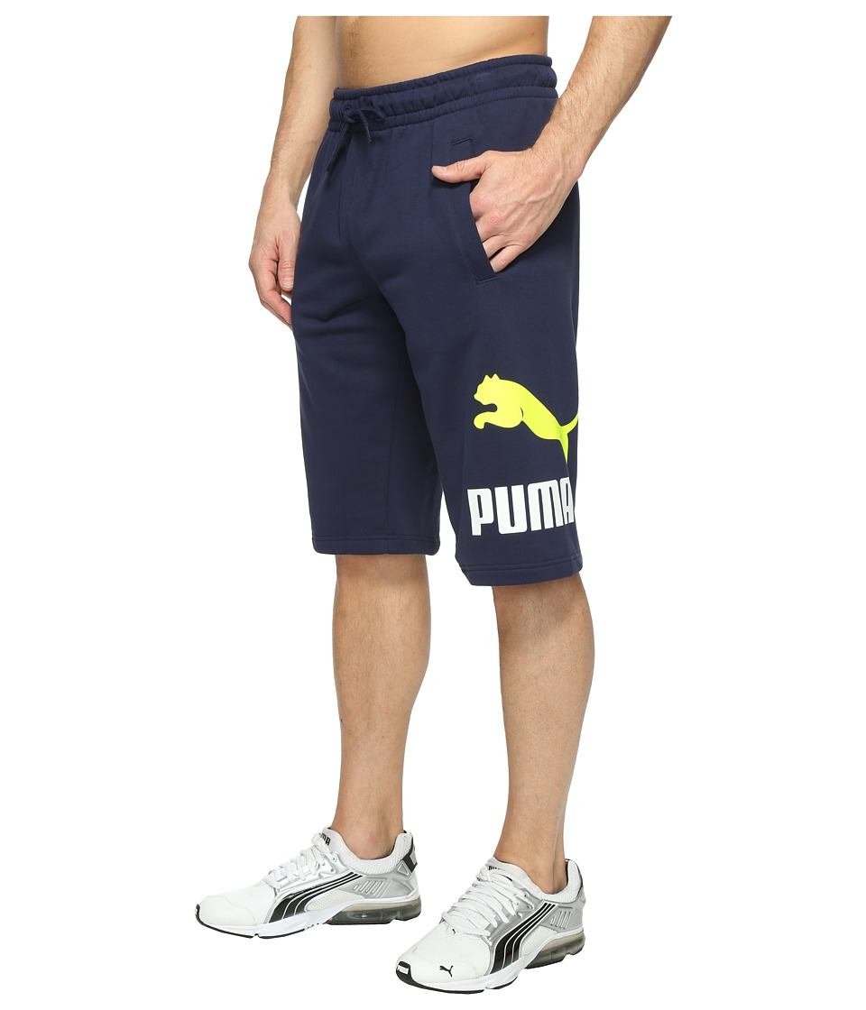 PUMA - Archive Logo Sweat Bermudas (Peacoat) Men's Shorts