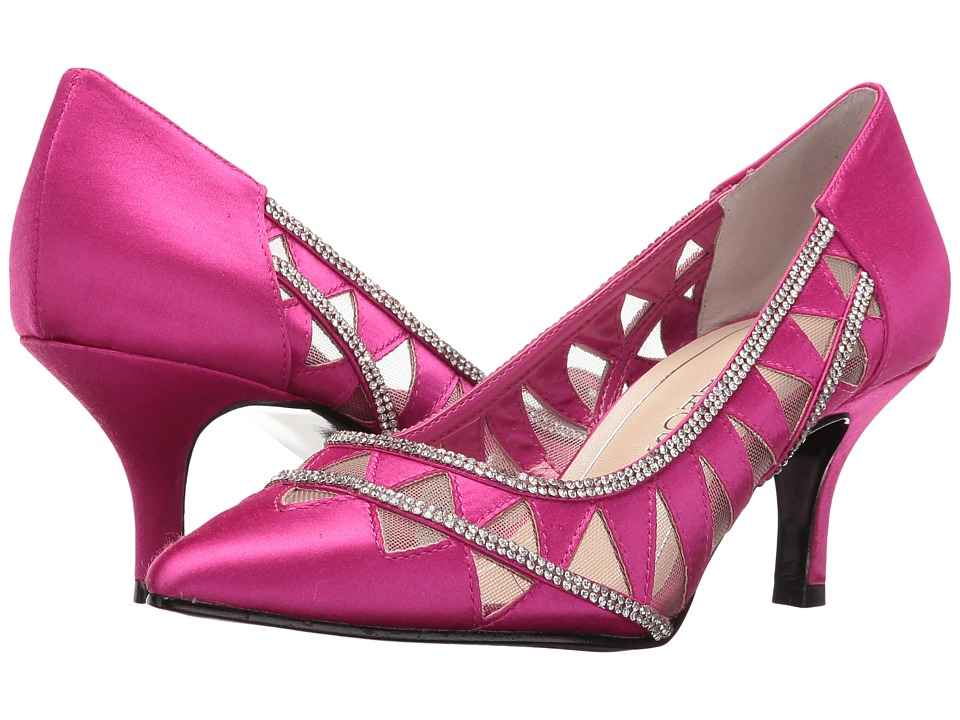 Caparros Fabulous (Magenta New Satin) High Heels