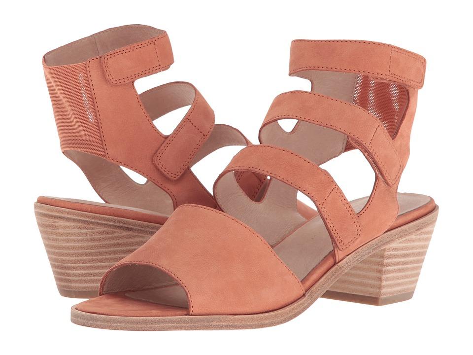 Eileen Fisher - Vessey (Caramel Tumbled Nubuck) Women's 1-2 inch heel Shoes