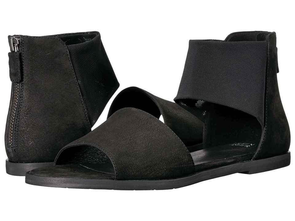 Eileen Fisher - Sign (Black Tumbled Nubuck) Women's Sandals