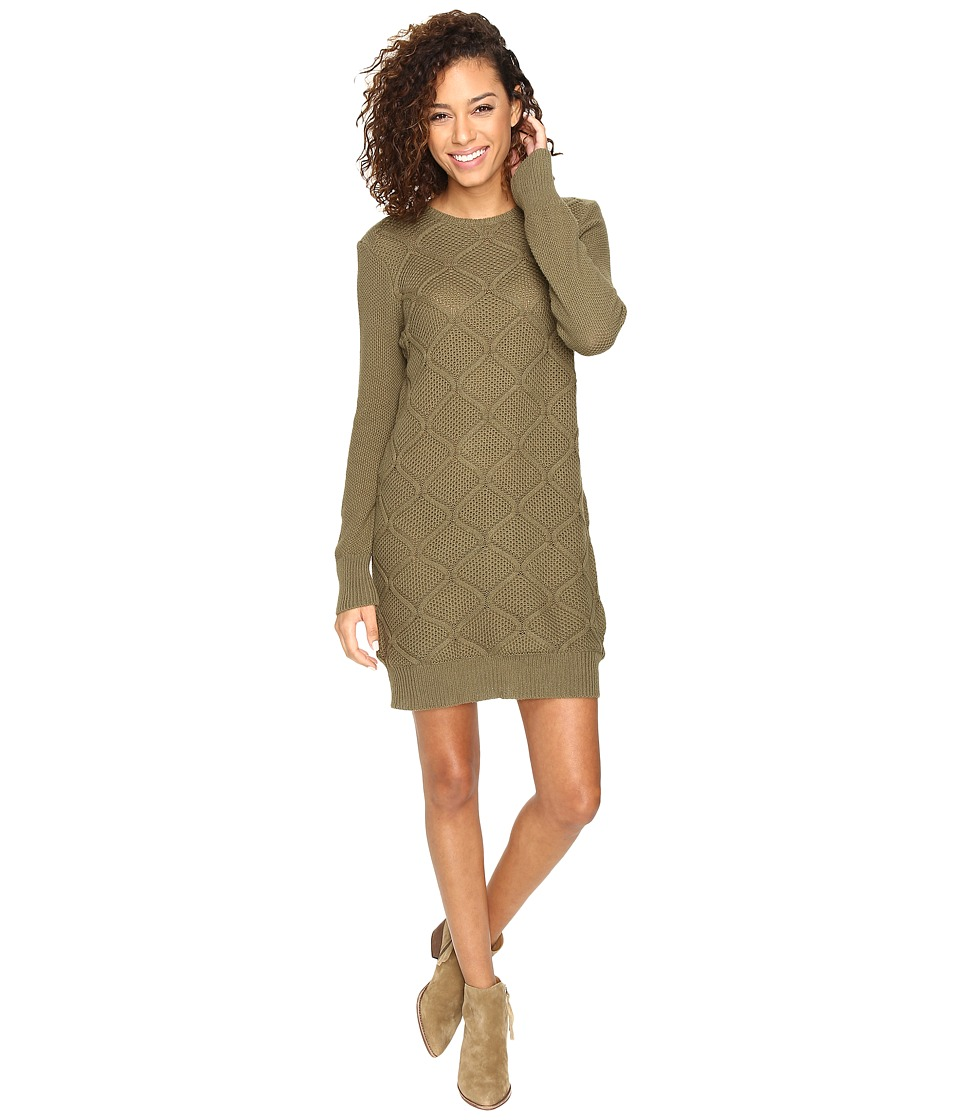 Volcom - Chained Down Dress (Military) Women's Dress