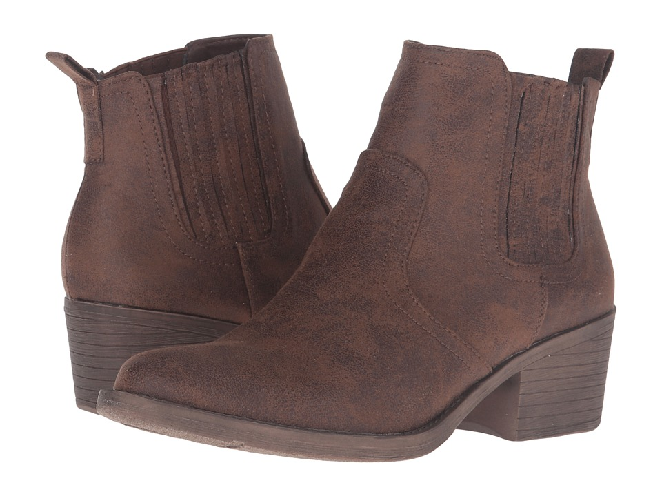 VOLATILE - Hattie (Brown) Women's Pull-on Boots