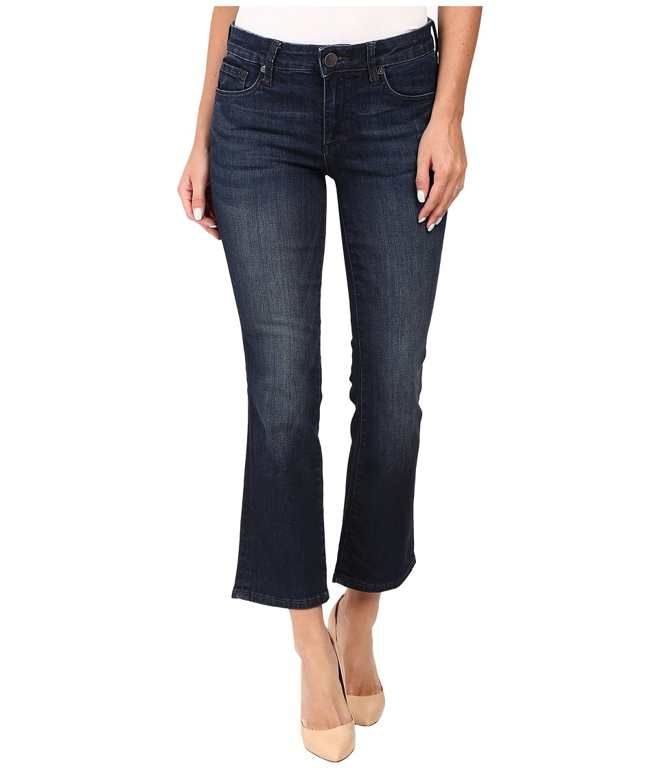 KUT from the Kloth - Reese Crop Flare Jeans in Security w/ Euro Base Wash (Security/Euro Base Wash) Women's Jeans
