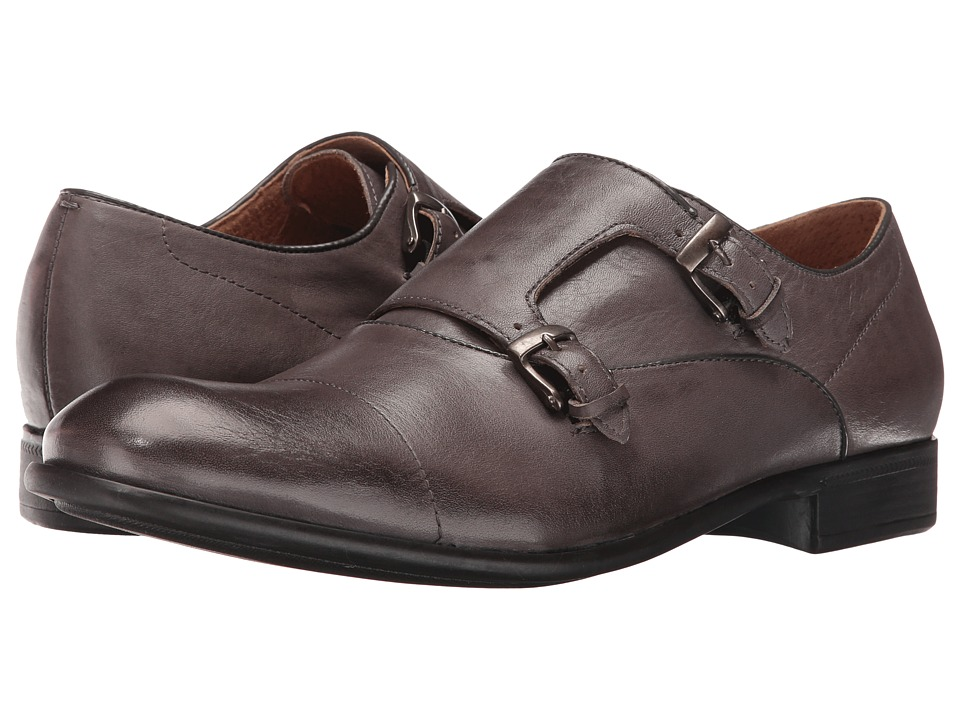 John Varvatos - Star Double Monk (Lead) Men's Shoes