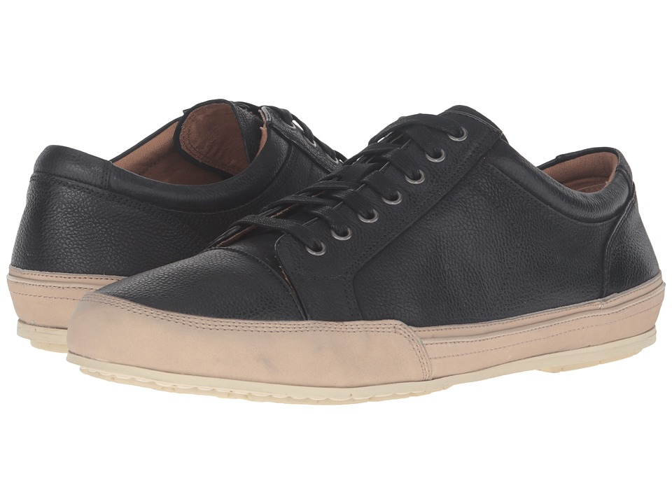 John Varvatos - Star Low Top Sneaker (Black) Men