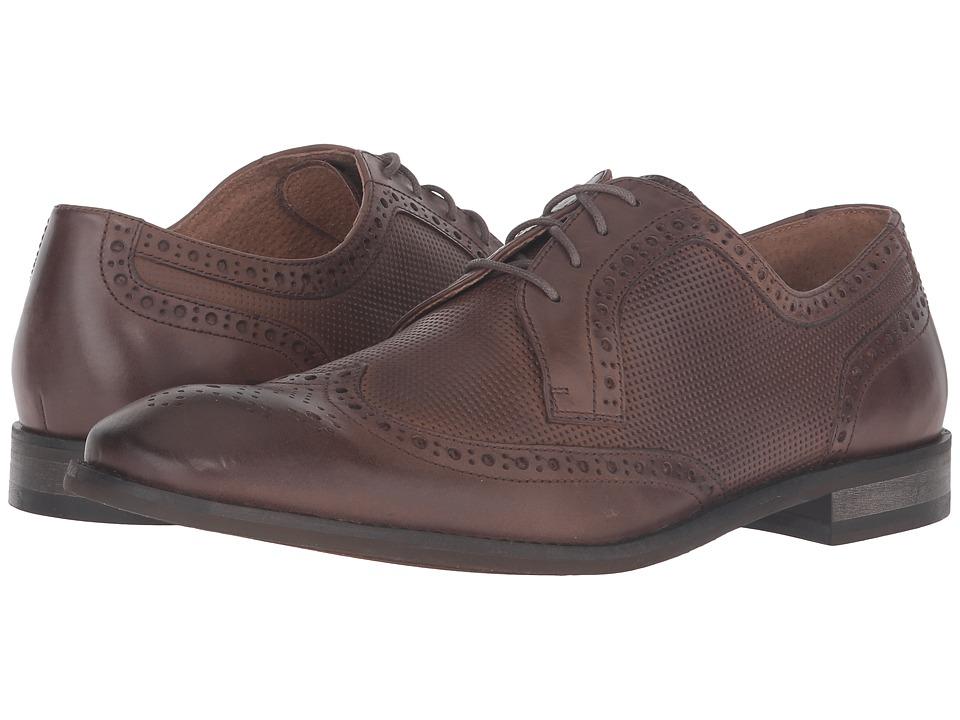 John Varvatos - Star Wingtip (Wood Brown) Men's Shoes