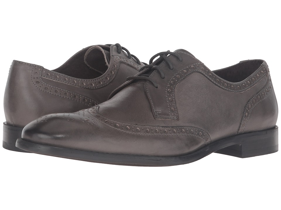 John Varvatos - Star Wingtip (Lead) Men's Shoes