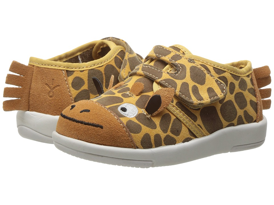 EMU Australia Kids - Giraffe Sneaker (Toddler/Little Kid/Big Kid) (Gold) Kid's Shoes