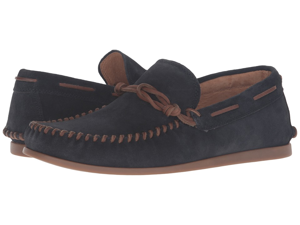 John Varvatos Star Moccasin (Midnight) Men