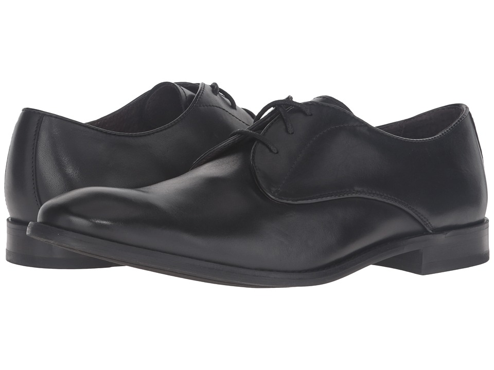 John Varvatos - Star Plain Toe Oxford (Black) Men's Shoes