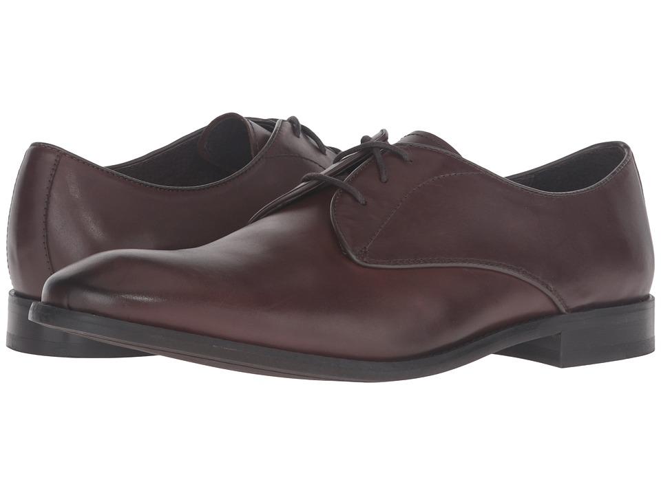 John Varvatos - Star Plain Toe Oxford (Espresso) Men's Shoes