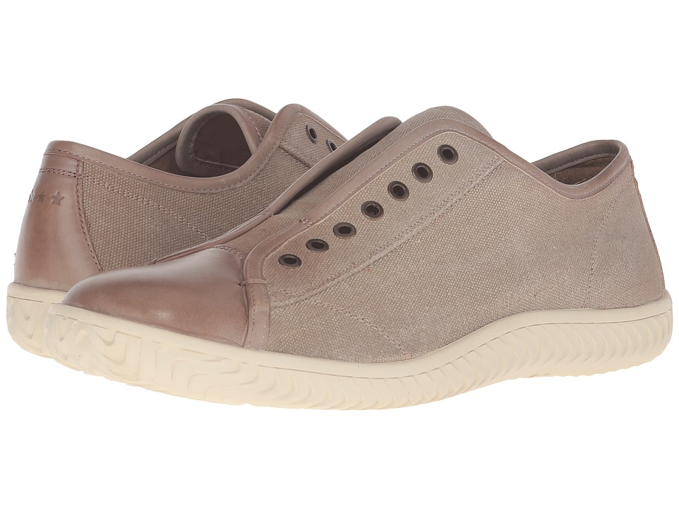 John Varvatos - Star Laceless Low Sneaker (Desert Sand) Men