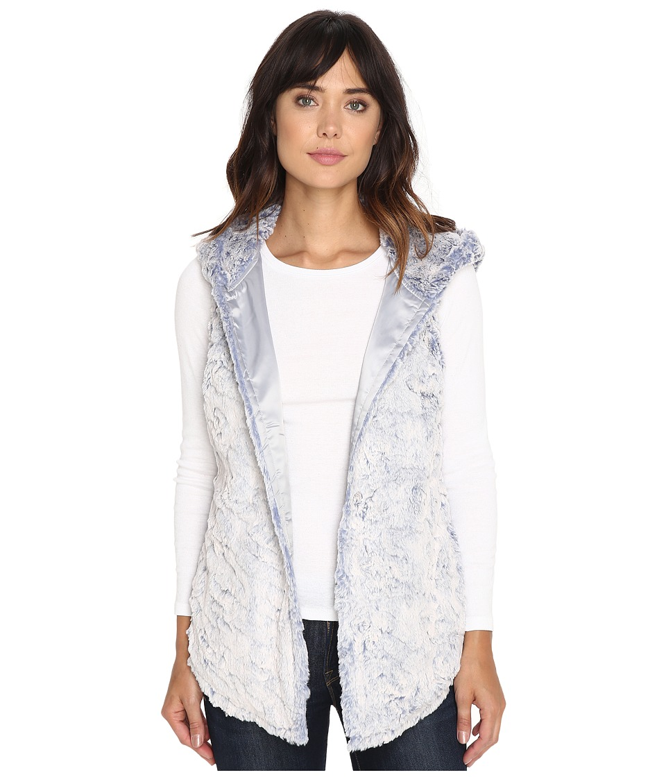 Dylan by True Grit - Chambray Faux Fur (Denim) Women's Vest
