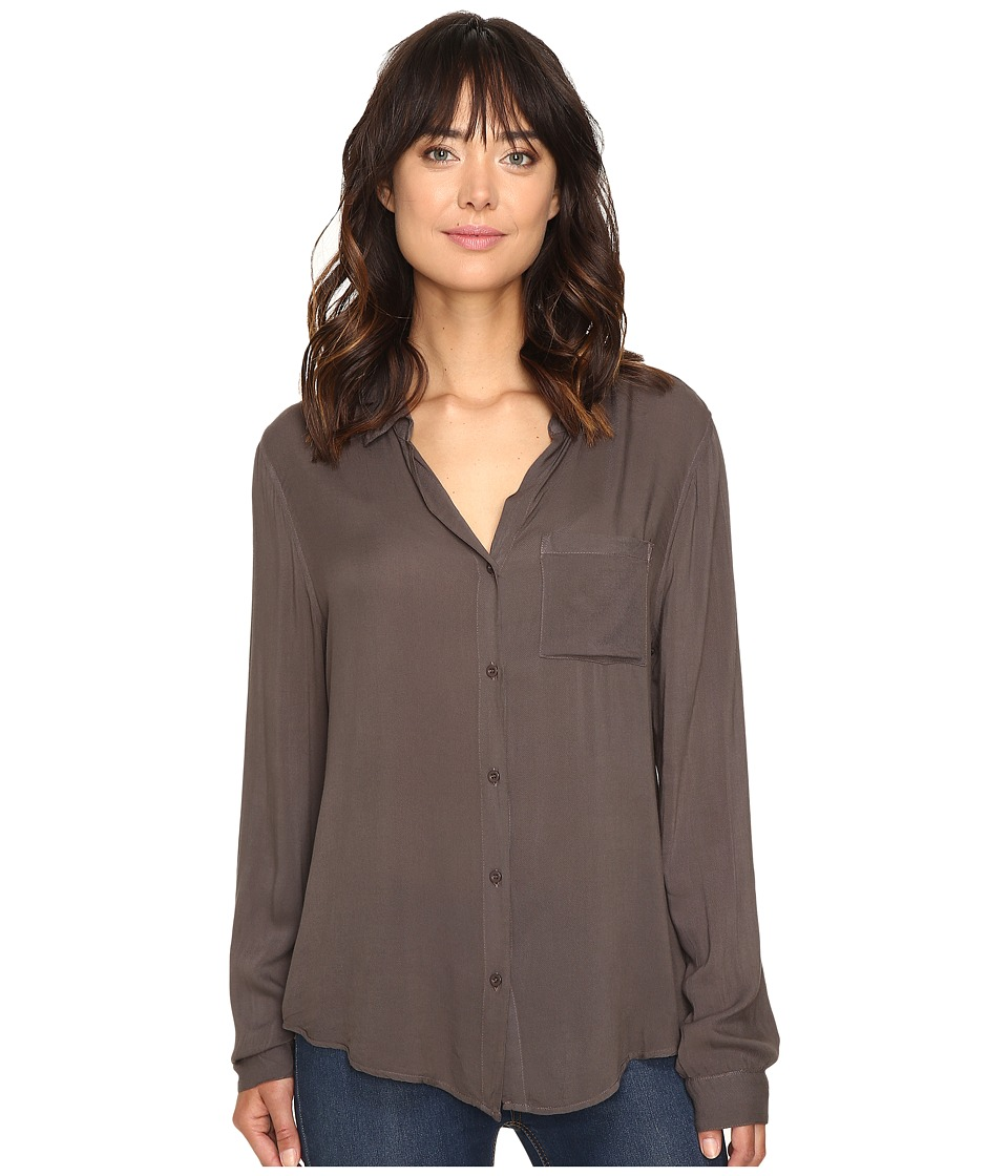 Dylan by True Grit - Soft Classic Blouse (Elm) Women's Blouse