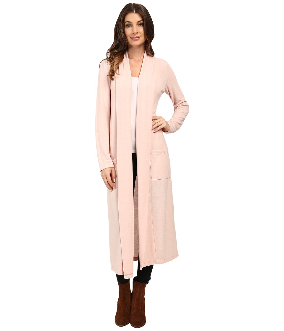 Dylan by True Grit - Haven Fleece Duster (Vintage Pink) Women's Fleece