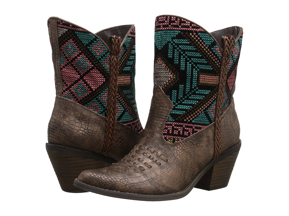 VOLATILE - Festive (Brown) Women's Boots
