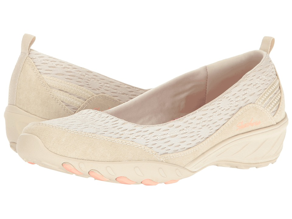 SKECHERS - Savvy - Winsome (Natural) Women's Flat Shoes