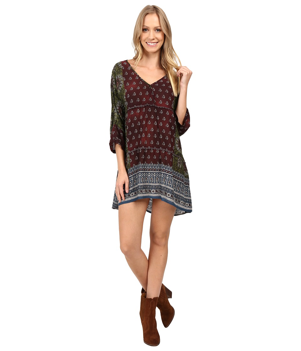 Dylan by True Grit - Coachella Hippie Dress (Malt) Women's Dress