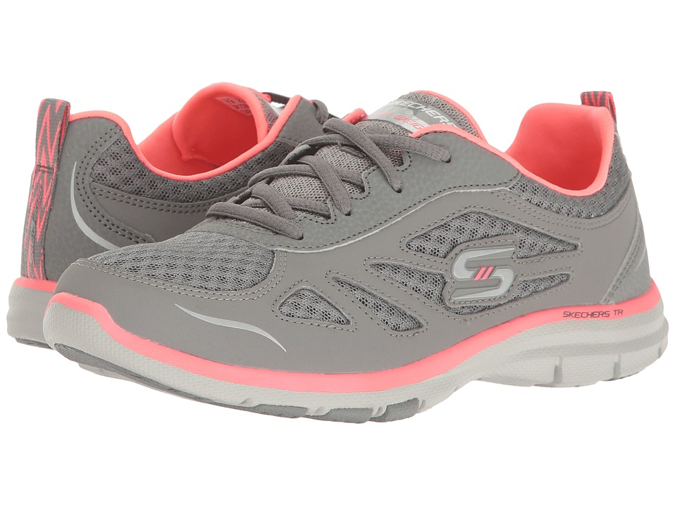 SKECHERS - Galaxies (Gray) Women's Shoes