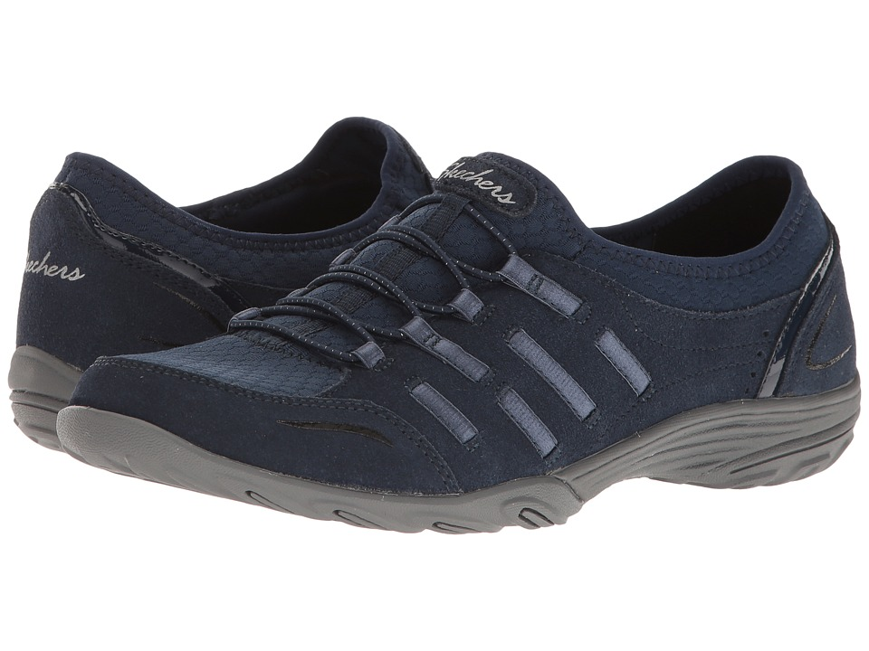 SKECHERS - Empress - Splendid (Navy) Women's Shoes