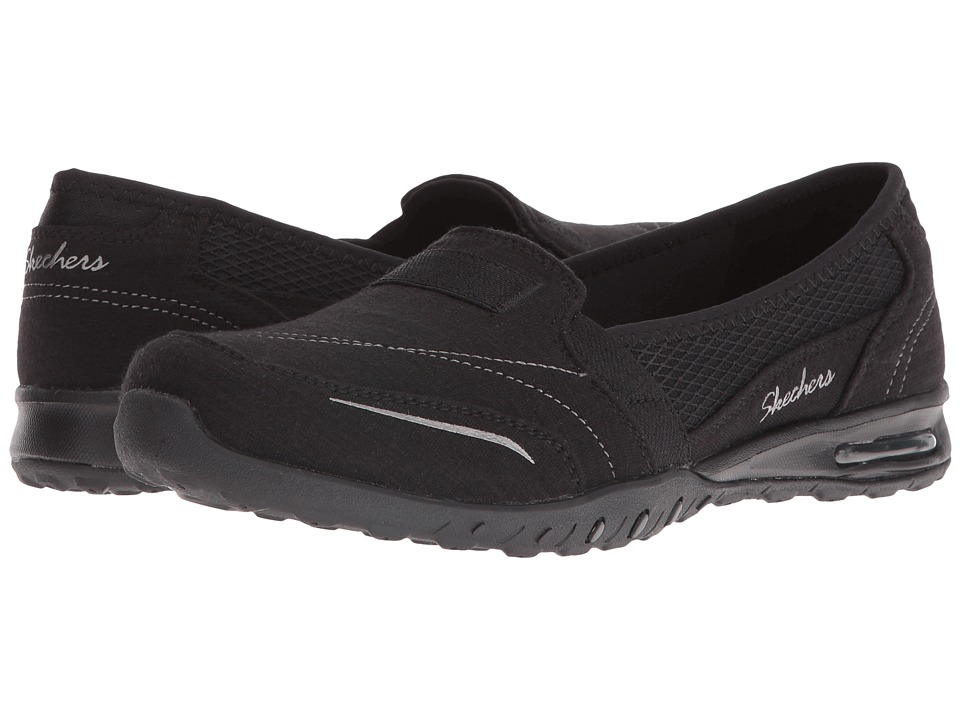 SKECHERS - Easy-Air - Gold Mine (Black) Women's Flat Shoes